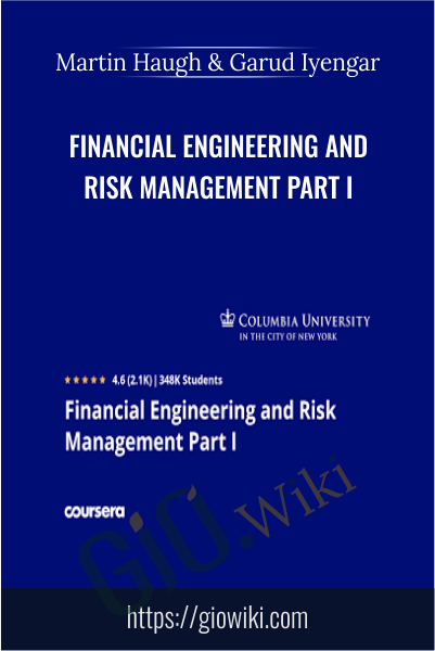 Financial Engineering and Risk Management Part I - Martin Haugh & Garud Iyengar