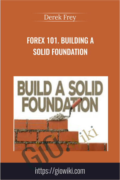 Forex 101. Building a Solid Foundation - Derek Frey