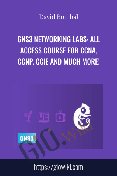GNS3 Networking Labs: All Access Course for CCNA, CCNP, CCIE and much more! - David Bombal