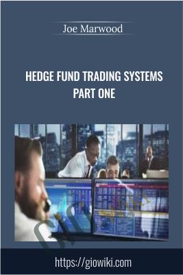 Hedge Fund Trading Systems Part One - Joe Marwood