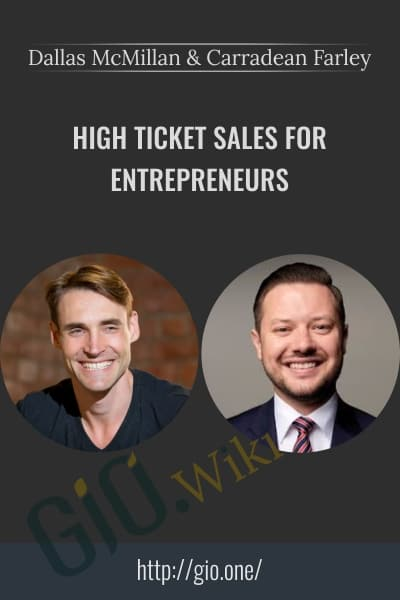 High Ticket Sales for Entrepreneurs
