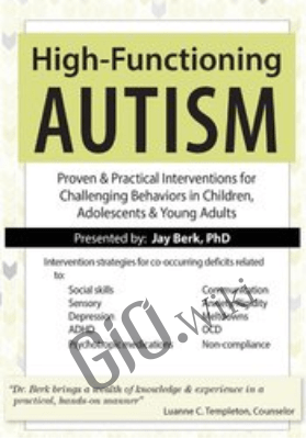 High-Functioning Autism: Proven & Practical Interventions for Challenging Behaviors in Children, Adolescents & Young Adults - Jay Berk
