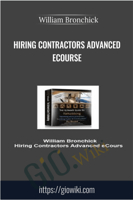 Contractors Advanced eCourse – William Bronchick