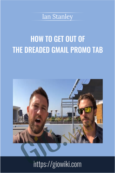 How to Get Out of The Promo Tab - Ian Stanley