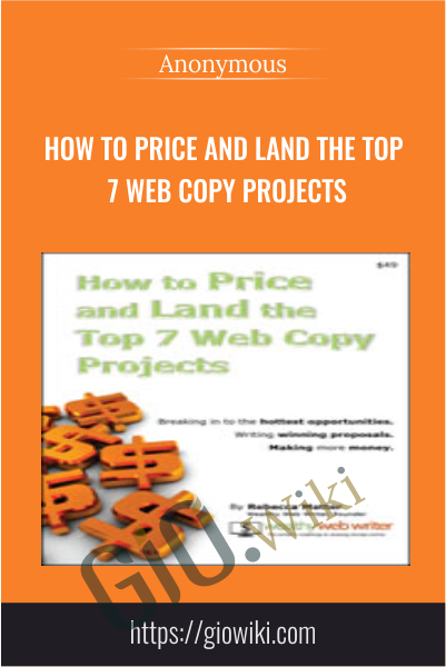How to Price and Land the Top 7 Web Copy Projects