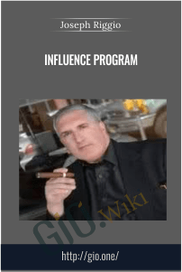 INFLUENCE Program – Joseph Riggio