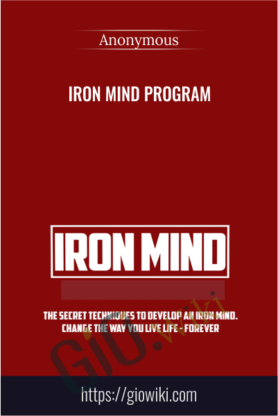 Iron Mind Program