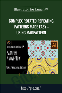 Illustrator for Lunch™ – Complex Rotated Repeating Patterns Made Easy – Using MadPattern