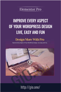 Improve Every Aspect of Your WordPress Design Live, Easy and Fun – Elementor Pro