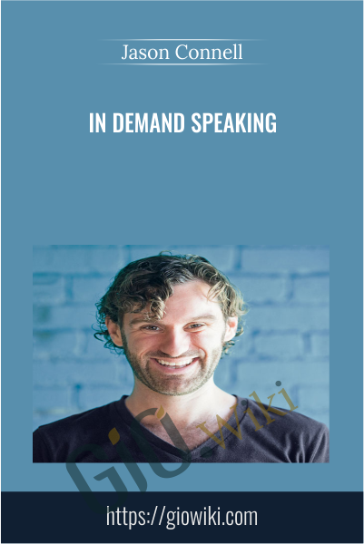 In Demand Speaking - Jason Connell