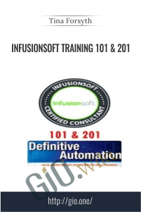 Infusionsoft Training 101 & 201 – Tina Forsyth