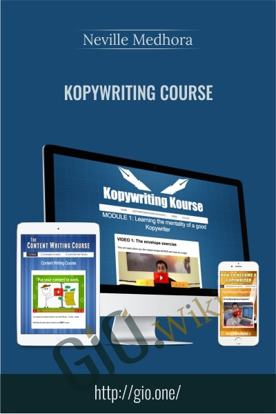 KopyWriting Course - Neville Medhora