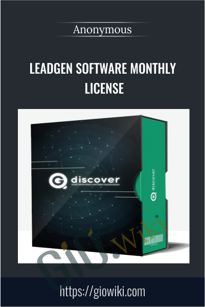LeadGen Software Monthly License