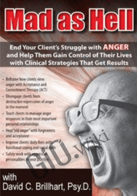 Mad as Hell: End Your Client's Struggle with Anger and Help Them Gain Control of Their Lives with Clinical Strategies That Get Results - David C. Brillhart