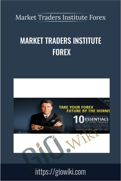 Market Traders Institute Forex - Jared Martinez