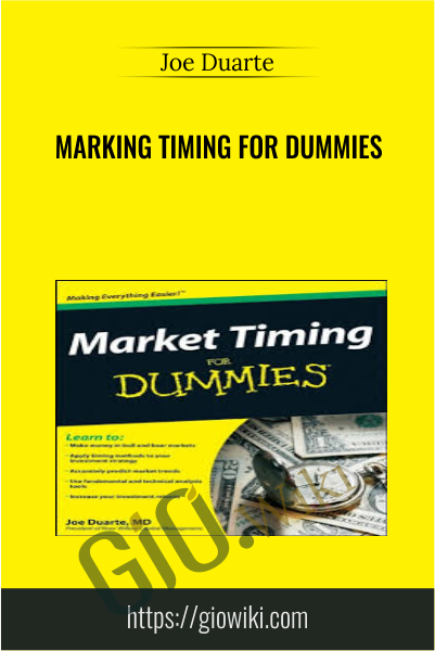 Marking Timing for Dummies - Joe Duarte