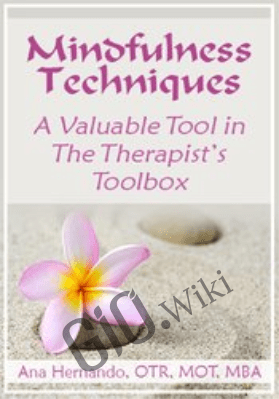 Mindfulness Techniques – A Valuable Tool in The Therapist's Toolbox - Ana Hernando