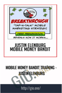 Mobile Money Bandit  Training - Justin Elenburg
