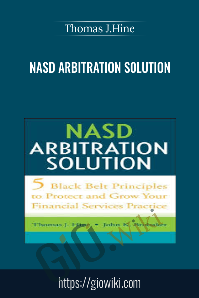 NASD Arbitration Solution - Thomas J.Hine
