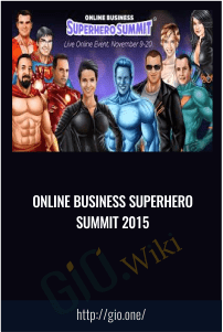 Online Business Superhero Summit 2015 - SuperHero Pack