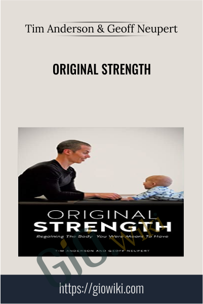 Original Strength - Tim Anderson & Geoff Neupert