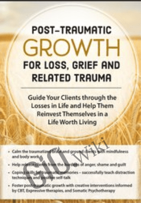 Post-Traumatic Growth for Loss, Grief and Related Trauma: Guide Your Clients through the Losses in Life and Help Them Reinvest Themselves in a Life Worth Living - Rita A. Schulte