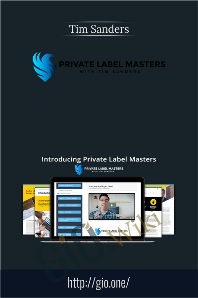Private Label Masters - Tim Sanders