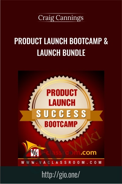Product Launch Bootcamp & Launch Bundle - Craig Cannings