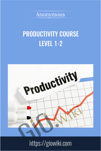Productivity Course Level 1-2