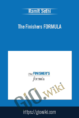 The Finishers Formula - Ramit Sethi Hidden