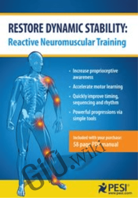 Restore Dynamic Stability: Reactive Neuromuscular Training - Mitch Hauschildt