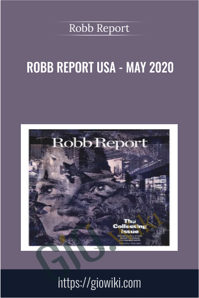 Robb Report USA - May 2020 - Robb Report