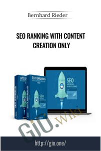 SEO Ranking with Content Creation Only – Bernhard Rieder