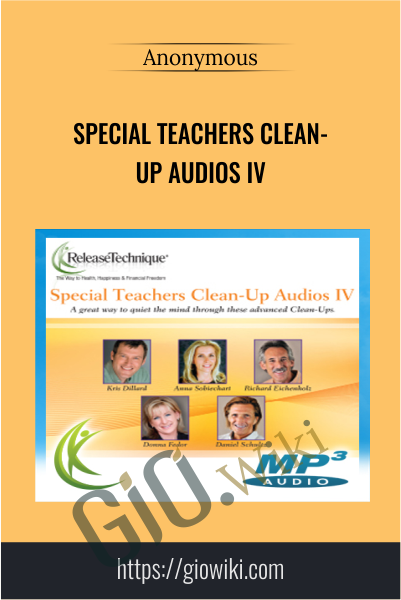 Special Teachers Clean- Up Audios Iv