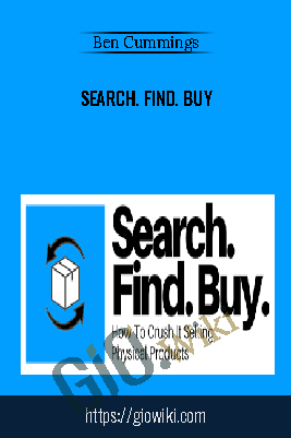 Search. Find. Buy - Ben Cummings