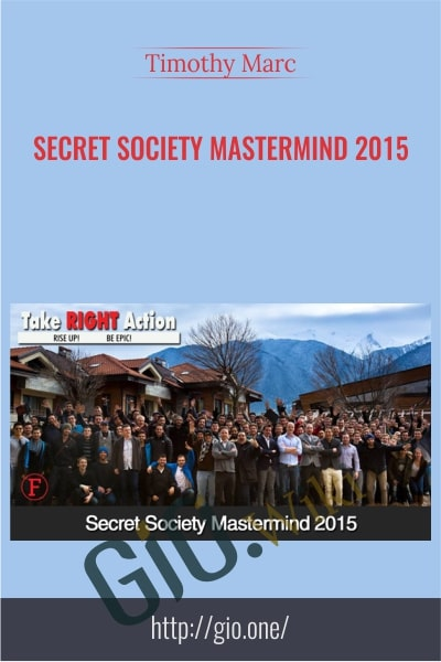 Secret Society Mastermind 2015 - Timothy Marc