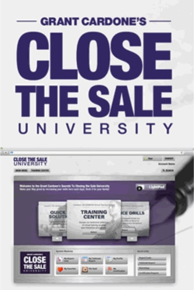 Secrets to Closing the Sale University - Grant Cardone