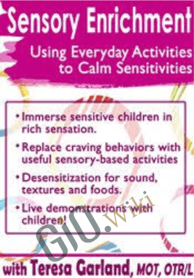 Sensory Enrichment: Using Everyday Activities to Calm Sensitivities and Sensory Craving - Teresa Garland