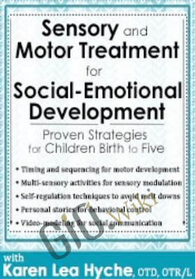 Sensory and Motor Treatment for Social-Emotional Development: Proven Strategies for Children Birth to Five - Karen Lea Hyche