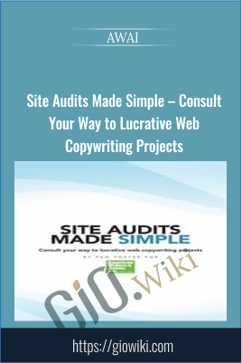 Site Audits Made Simple – Consult Your Way to Lucrative Web Copywriting Projects - AWAI