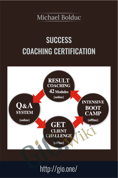 Success Coaching Certification - Michael Bolduc