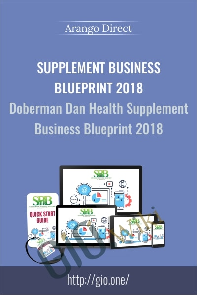 Supplement Business Blueprint 2018 - Doberman Dan