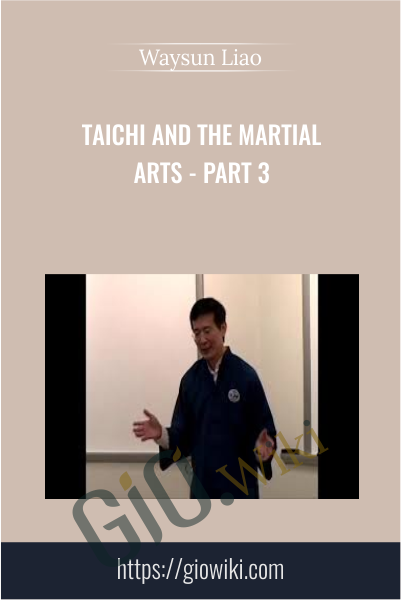 Taichi and the Martial Arts - Part 3 - Waysun Liao