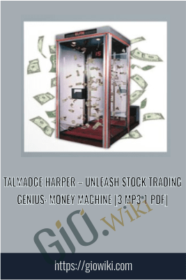 Unleash Stock Trading Genius: Money Machine [3 mp3 1 PDF]