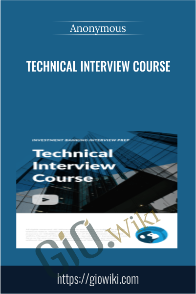 Technical Interview Course