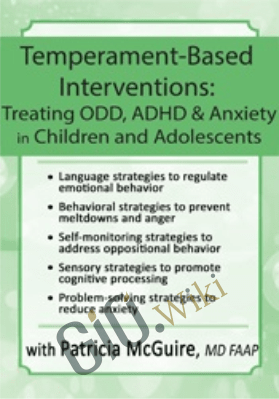 Temperament-Based Interventions: Treating ODD, ADHD & Anxiety in Children and Adolescents - Patricia McGuire