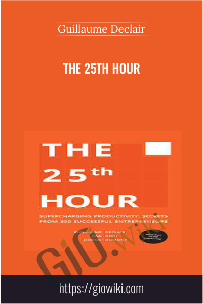 The 25th Hour - Guillaume Declair