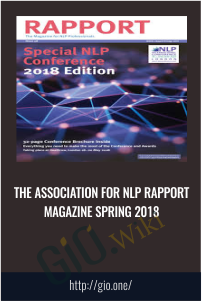 The Association for NLP Rapport Magazine Spring 2018