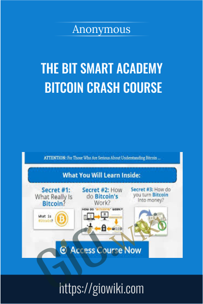 The Bit Smart Academy bitcoin Crash Course