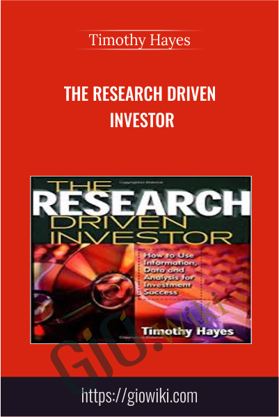 The Research Driven Investor - Timothy Hayes